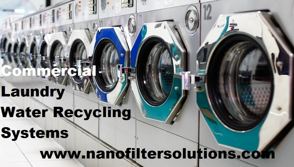 Laundromat Water Recycling Systems